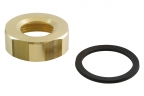 Cap nut for jet discs with gasket