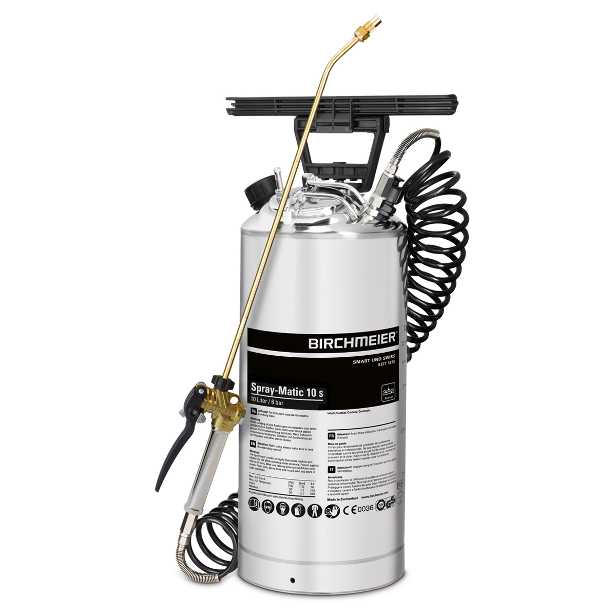 Spray-Matic 10 S with compressed-air union