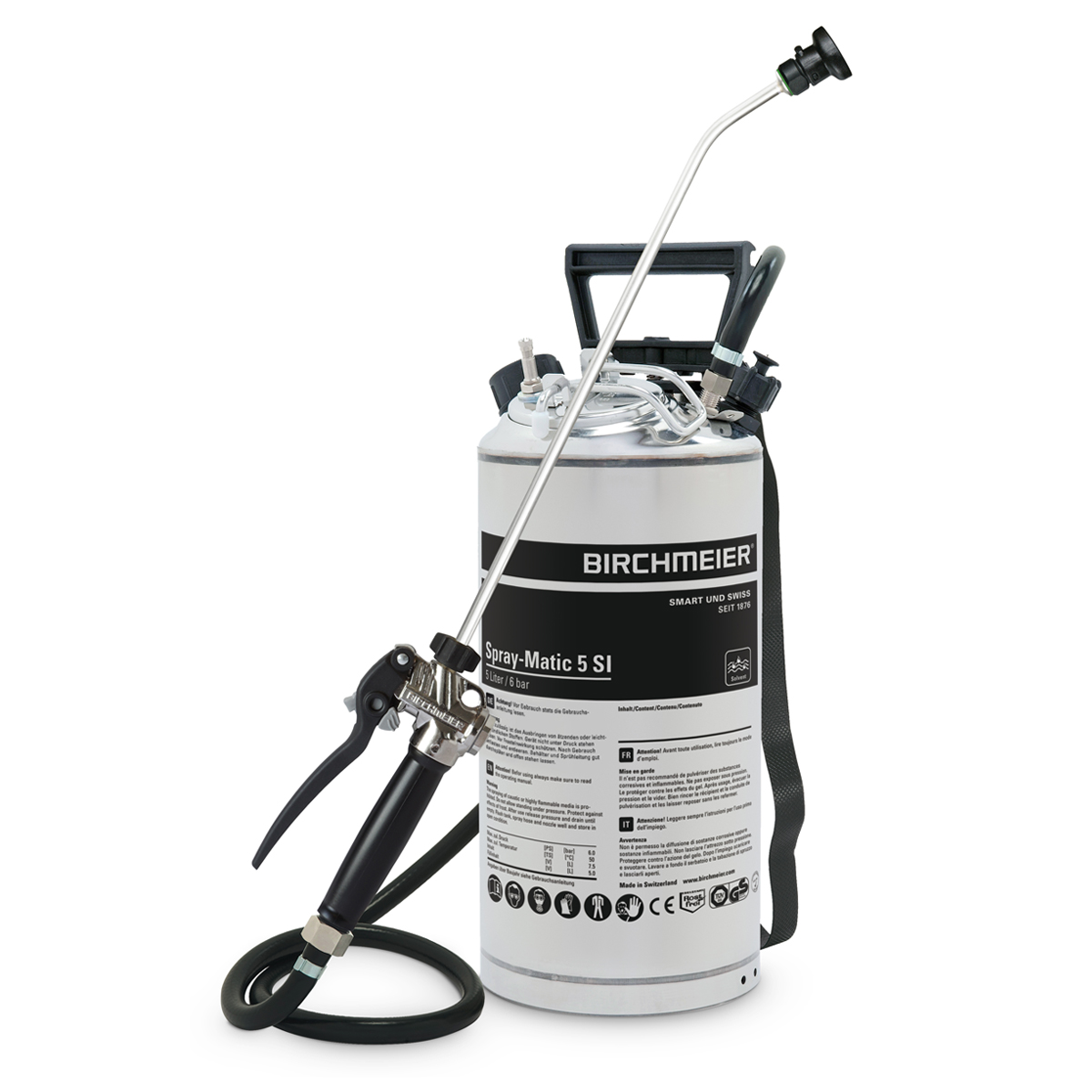 Spray-Matic 5 SI with compressed-air union