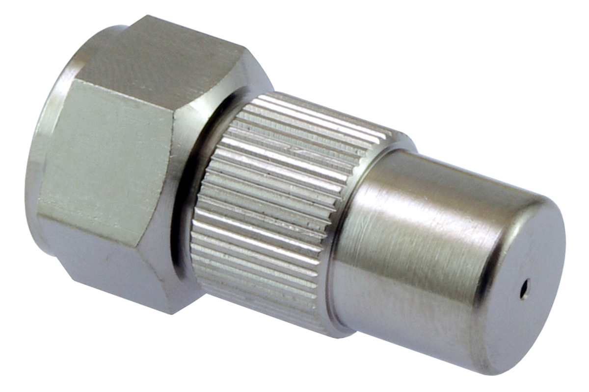 "Adjustable nozzle 1.3 mm, G1/4"" brass ni"